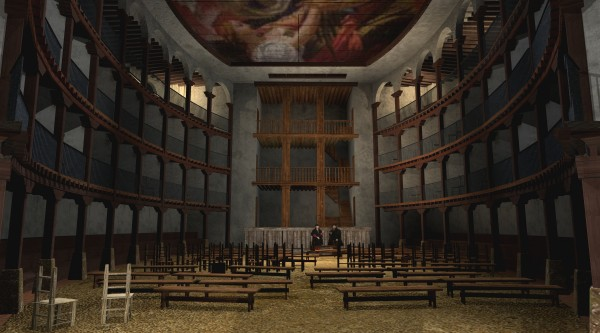 IMAGEN 8 El Corral de la Montería de Sevilla. Reconstrucción virtual.
